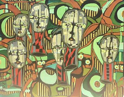 Faces #22 Art Print