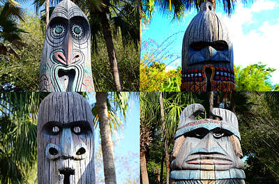 Photograph - Faces Of Adventureland by David Lee Thompson