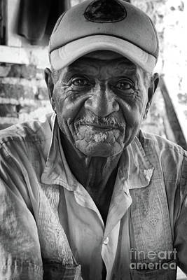 Becky Photograph - Faces Of Cuba The Gentleman by Wayne Moran