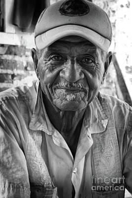 Faces Of Cuba The Gentleman Art Print