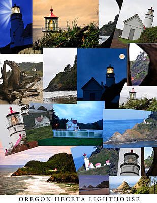 Door Locks And Handles - Faces of Heceta Head Lighthouse by Image Takers Photography LLC - Laura Morgan and Carol Haddon