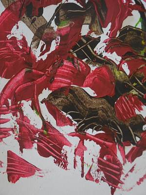 Textured Painting - Facetious by Karen Lillard