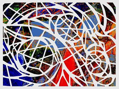 Digital Art - Facets by Cecilia Swatton