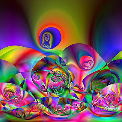 Digital Art - Facillipse by Andrew Kotlinski