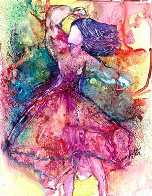 Facing One Art Print by Deborah Nell