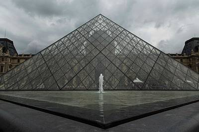 Photograph - Facing The Pyramid - 1 by Hany J