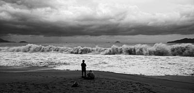 Photograph - Facing The Storm by Kim Lagerhem