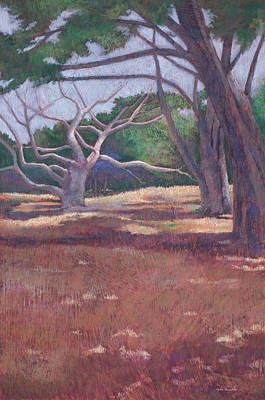 Pastel - Facing West-- On Stage by Lynn Goldstein