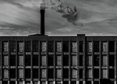 Photograph - Factory by Bob Orsillo