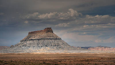 Photograph - Factory Butte by Dan Mihai