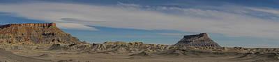 Photograph - Factory Butte Moonscape Hanksville Utah by Lawrence S Richardson Jr