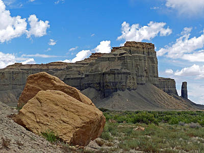 Photograph - Factory Butte-swing Arm City 26 by Jeff Brunton