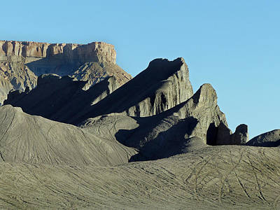Photograph - Factory Butte-swing Arm City 8 by Jeff Brunton