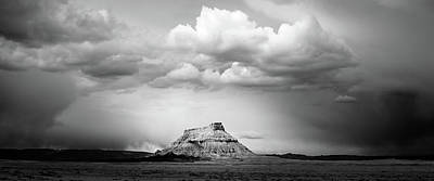 Photograph - Factory Butte by TL  Mair