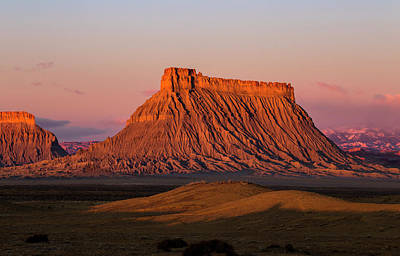 Photograph - Factory Butte by Wesley Aston