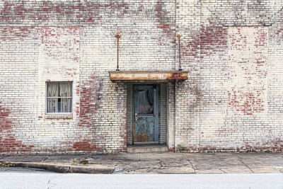 Photograph - Factory Door by Sharon Popek