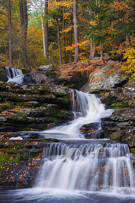 Art Print featuring the photograph Factory Falls 2 by Mark Papke
