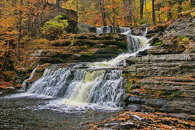 Photograph - Factory Falls - Childs State Park by Allen Beatty