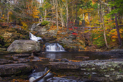 Art Print featuring the photograph Factory Falls by Mark Papke
