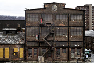 Photograph - Factory by John Rizzuto