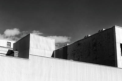 Photograph - Factory Roof 2 by Mary Bedy