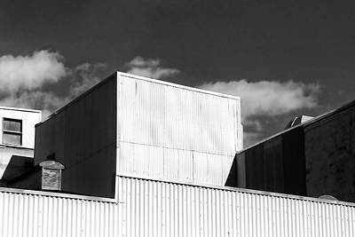 Photograph - Factory Roof by Mary Bedy