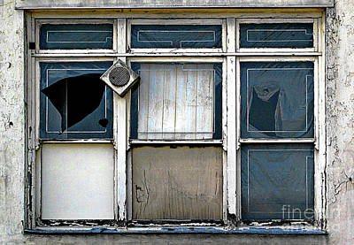 Art Print featuring the photograph Factory Windows by Ethna Gillespie