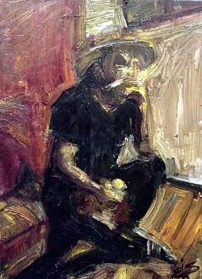 Character Portraits Painting - Fadanelli by Ashael Shewionkova