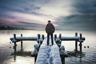Photograph - Fade Into Winter by Evelina Kremsdorf