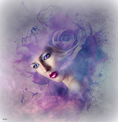 Erotica Mixed Media - Faded Beauty by G Berry