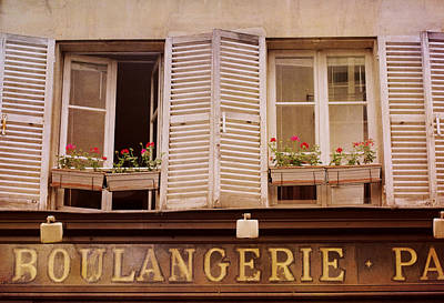 Photograph - Faded Boulangerie by Heidi Hermes