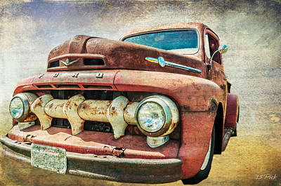 Faded Ford Art Print by Tom Pickering of Photopicks Photography and Art