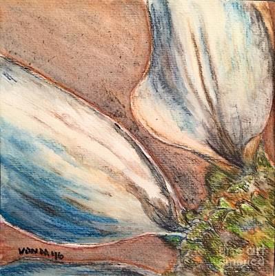 Drawing - Faded Glory  by Vonda Lawson-Rosa
