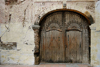 Photograph - Faded Grandeur In Essaouira by David Birchall