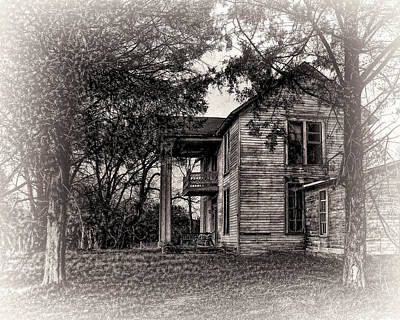 Photograph - Faded Memories by TnBackroadsPhotos