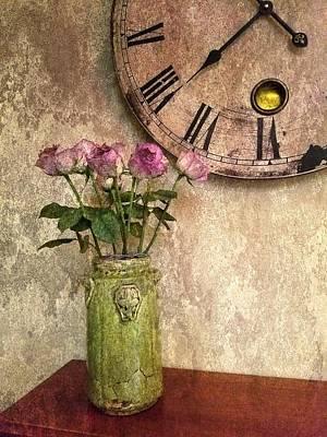 Photograph - Faded Roses by Joe Duket