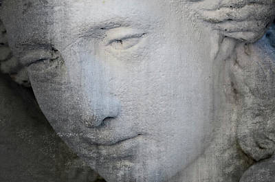 Photograph - Faded Statue by Jim Shackett