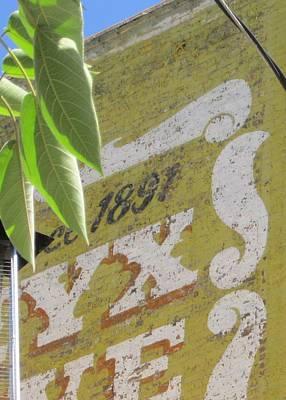 Faded Wall Original by John Adams
