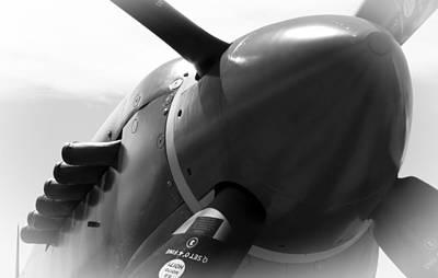 Spitfire Photograph - Fading Flight History by Daniel Hagerman