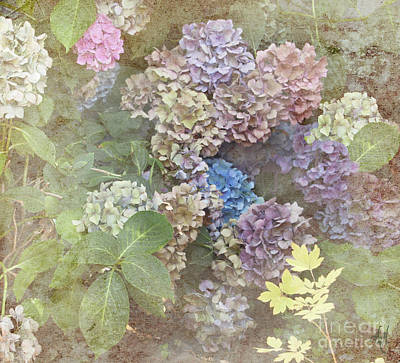 Digital Art - Fading Flowers by Victoria Harrington