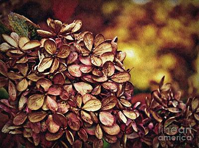 Fading Digital Art - Fading Into Autumn by Sarah Loft