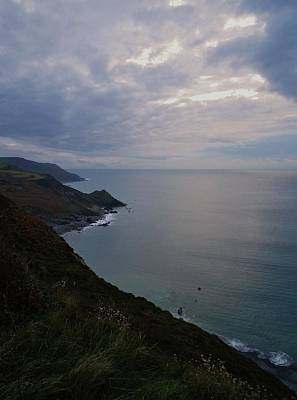 Photograph - Fading Light At Millook Haven by Richard Brookes