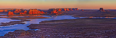 Buttes Photograph - Fading Light by Chad Dutson