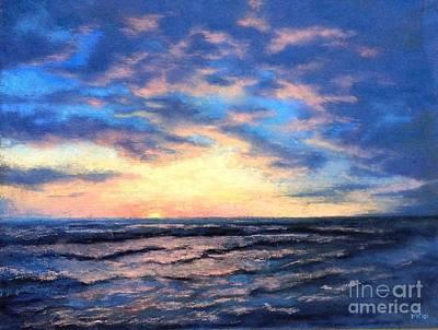 Pastel - Fading Light by Marlene Kingman