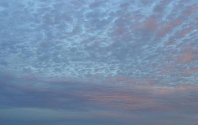 Photograph - Fading Light On The Clouds  by Lyle Crump