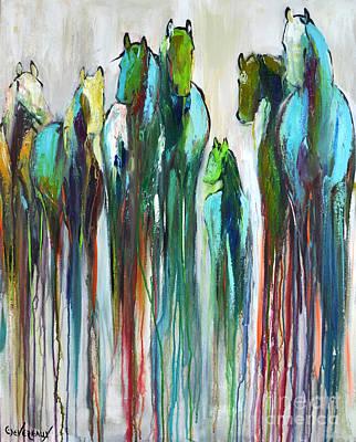 Fading Souls Art Print by Cher Devereaux