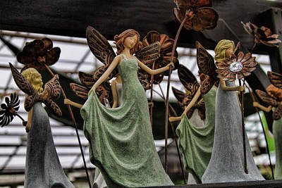 Photograph - Faerie Flower Dance by Alana Thrower