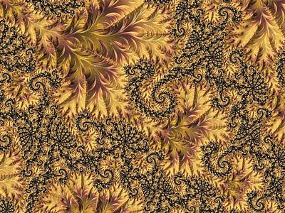 Digital Art - Faerie Forest Floor II by Susan Maxwell Schmidt