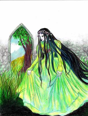 Faerie Queen Art Print by Rebecca Tripp