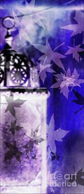 Digital Art - Faeries In Purple  by Liz Alderdice